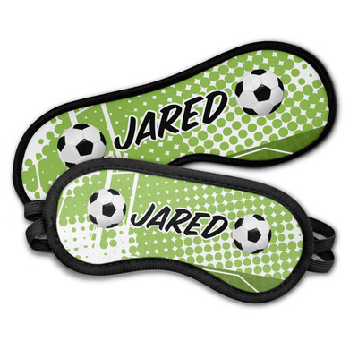 Soccer Sleeping Eye Masks (Personalized)