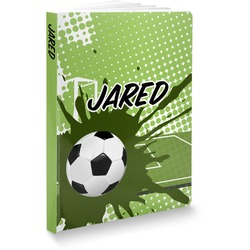 "Soccer Softbound Notebook - 5.75"" x 8"" (Personalized)"