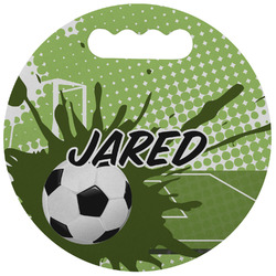 Soccer Stadium Cushion (Round) (Personalized)
