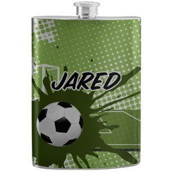 Soccer Stainless Steel Flask (Personalized)