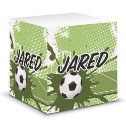 Soccer Sticky Note Cube (Personalized)