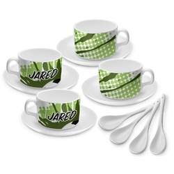 Soccer Tea Cup - Set of 4 (Personalized)