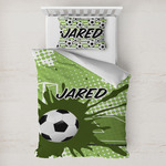 Soccer Toddler Bedding w/ Name or Text