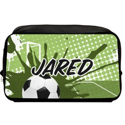 Soccer Toiletry Bag / Dopp Kit (Personalized)