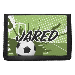 Soccer Trifold Wallet (Personalized)