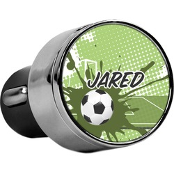 Soccer USB Car Charger (Personalized)