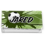 Soccer Vinyl Checkbook Cover (Personalized)