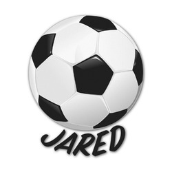 Soccer Graphic Decal - Medium (Personalized)