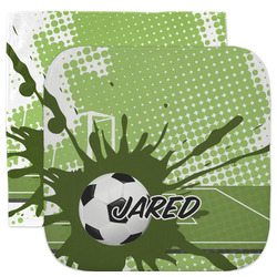Soccer Facecloth / Wash Cloth (Personalized)