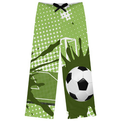 Soccer Womens Pajama Pants (Personalized)
