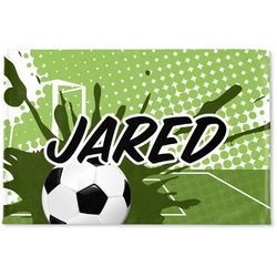 Soccer Woven Mat (Personalized)