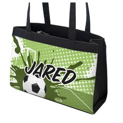 Soccer Zippered Everyday Tote (Personalized)