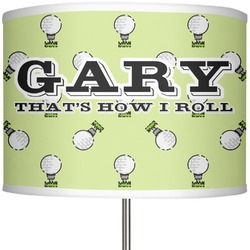 """Golf 13"""" Drum Lamp Shade Polyester (Personalized)"""