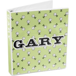 Golf 3-Ring Binder (Personalized)
