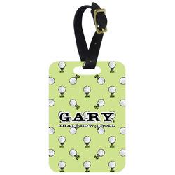 Golf Aluminum Luggage Tag (Personalized)