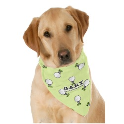 Golf Pet Bandanas (Personalized)