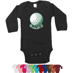 Golf Bodysuit - Black (Personalized)
