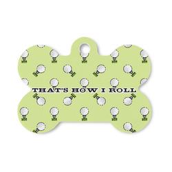 Golf Bone Shaped Dog Tag (Personalized)