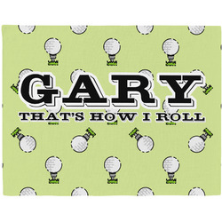 Golf Placemat (Fabric) (Personalized)