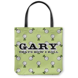 Golf Canvas Tote Bag (Personalized)