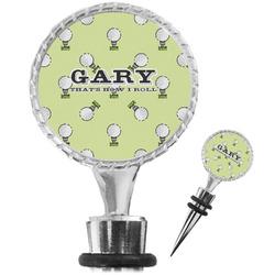 Golf Wine Bottle Stopper (Personalized)