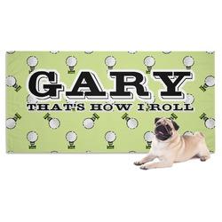 Golf Dog Towel (Personalized)