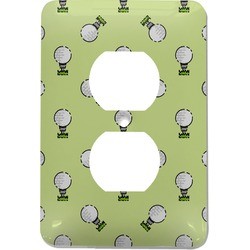 Golf Electric Outlet Plate (Personalized)