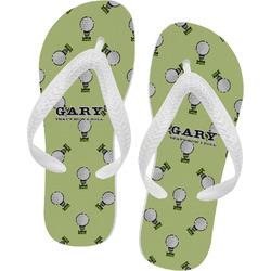 Golf Flip Flops (Personalized)