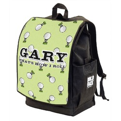 Golf Backpack w/ Front Flap  (Personalized)