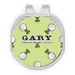 Golf Golf Ball Marker - Hat Clip
