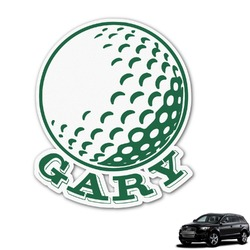 Golf Graphic Car Decal (Personalized)