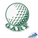 Golf Graphic Iron On Transfer (Personalized)
