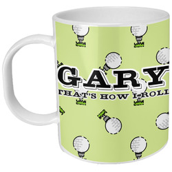 Golf Plastic Kids Mug (Personalized)