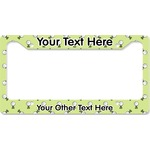 Golf License Plate Frame (Personalized)