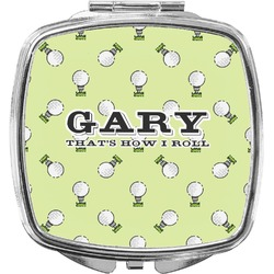 Golf Compact Makeup Mirror (Personalized)
