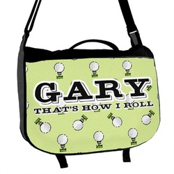 Golf Messenger Bag (Personalized)