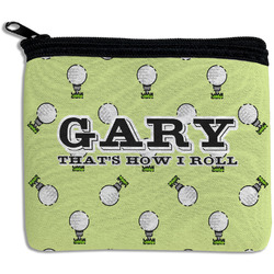 Golf Rectangular Coin Purse (Personalized)