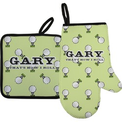 Golf Oven Mitt & Pot Holder (Personalized)