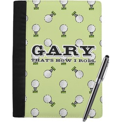 Golf Notebook Padfolio (Personalized)