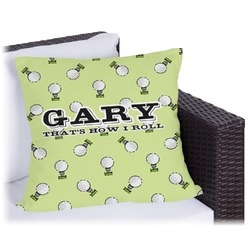 Golf Outdoor Pillow (Personalized)