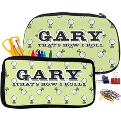 Golf Pencil / School Supplies Bag (Personalized)