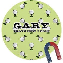 Golf Round Magnet (Personalized)