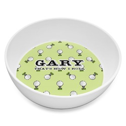 Golf Melamine Bowl - 8 oz (Personalized)