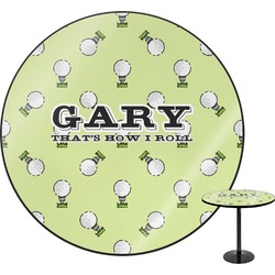 Golf Round Table (Personalized)