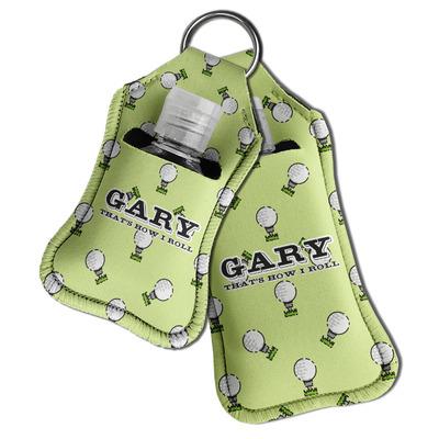 Golf Hand Sanitizer & Keychain Holder (Personalized)