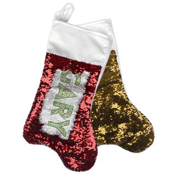Golf Reversible Sequin Stocking (Personalized)