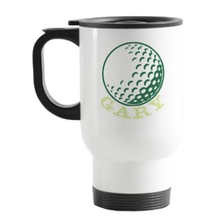 Golf Stainless Steel Travel Mug with Handle