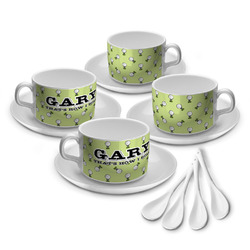 Golf Tea Cup - Set of 4 (Personalized)
