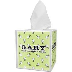 Golf Tissue Box Cover (Personalized)
