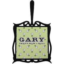 Golf Trivet with Handle (Personalized)
